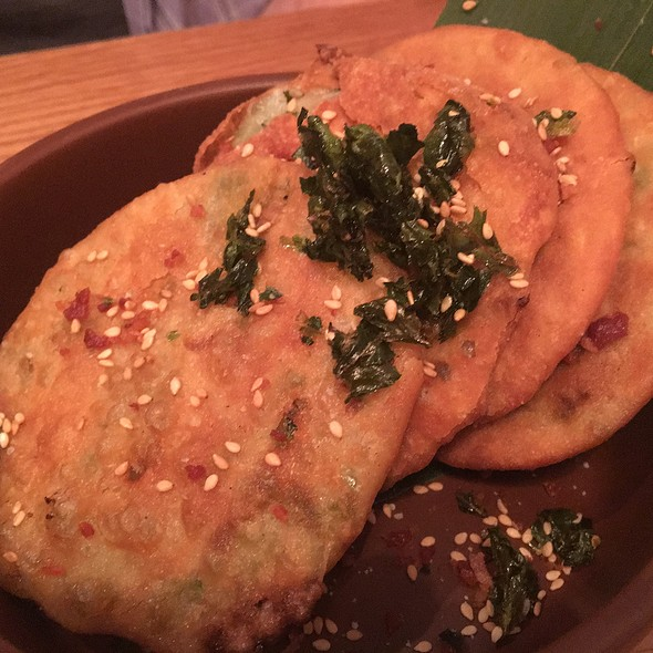 Scallion Pancakes W Bacon @ RedFarm
