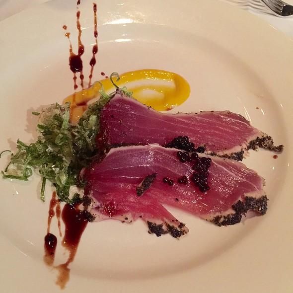 Big Eye Tuna Tartare With Mango Relish - Chamberlain's Fish Market Grill, Addison, TX