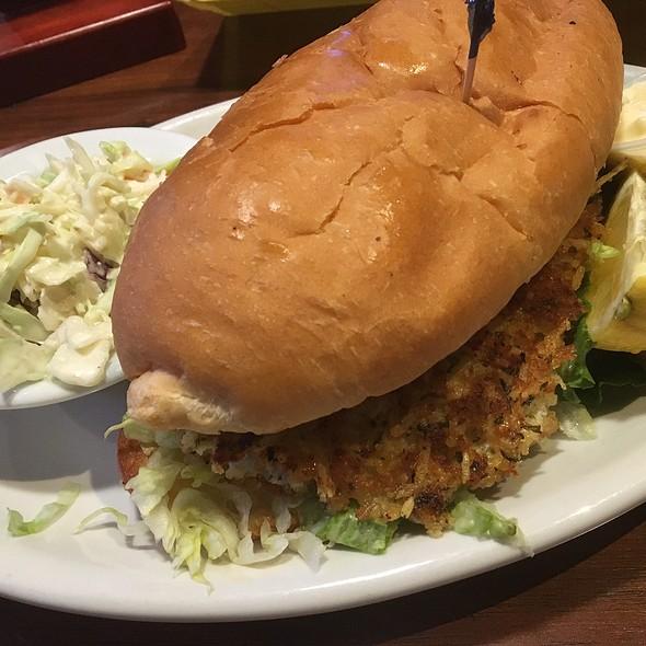 Walleye Sandwich @ Shortstop Bar & Grill