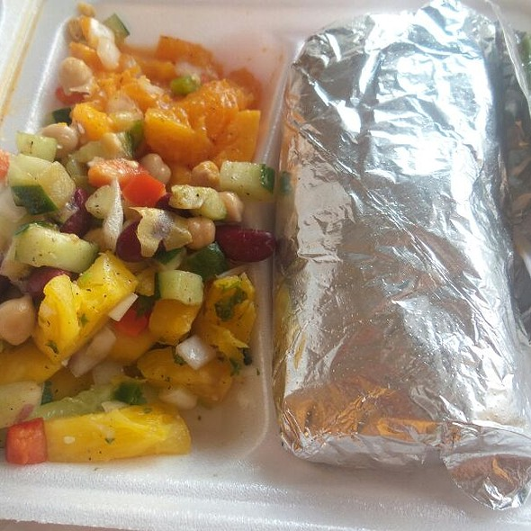 Carnitas Burrito Plate @ Senor Pepe