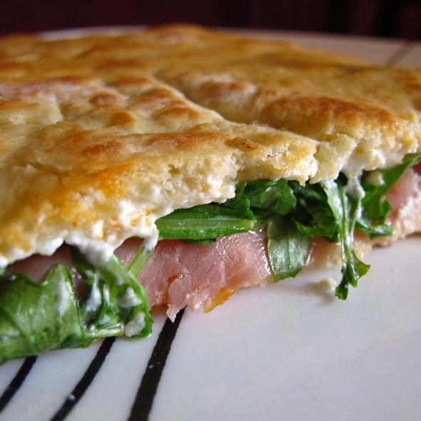 Pig-in-a-Blanket Pizza - Ornella Trattoria Italiana, Astoria, NY