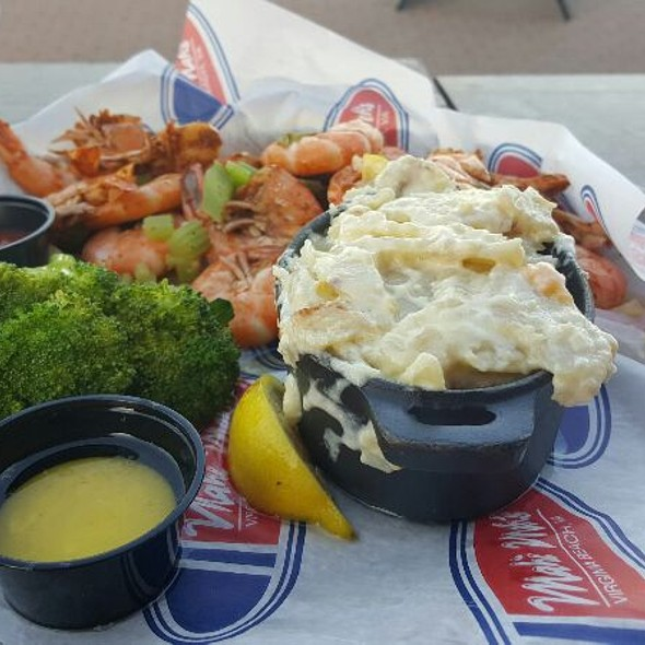 Boiled Shrimp Plate - Mahi Mah's Seafood Restaurant and Sushi Saloon, Virginia Beach, VA