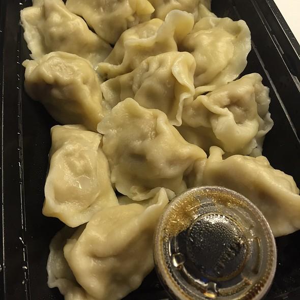 Pork And Cabbage Dumplings @ Mama Ji's