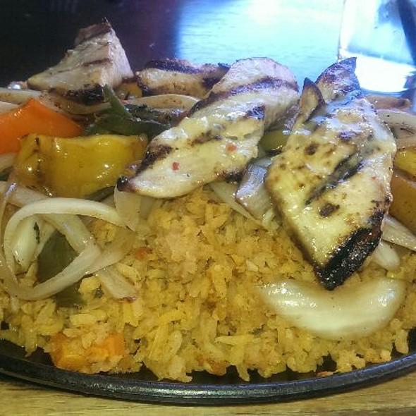 Grilled Mahi Mahi Fajitas @ The Prickly Pear Cantina