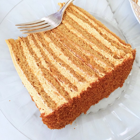 Russian Honey Cake @ 20th Century Cafe