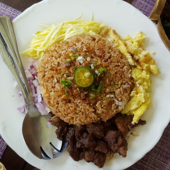 Bagoong Rice @ Lime and Basil Thai Restaurant