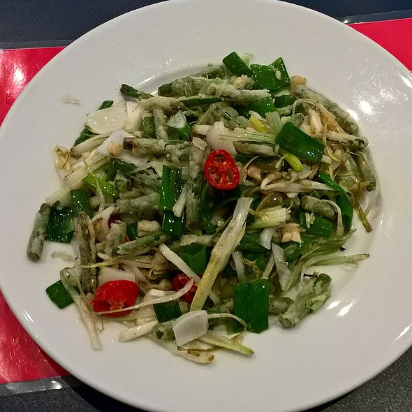 Salt and Pepper Green Beans @ Noodle Noodle