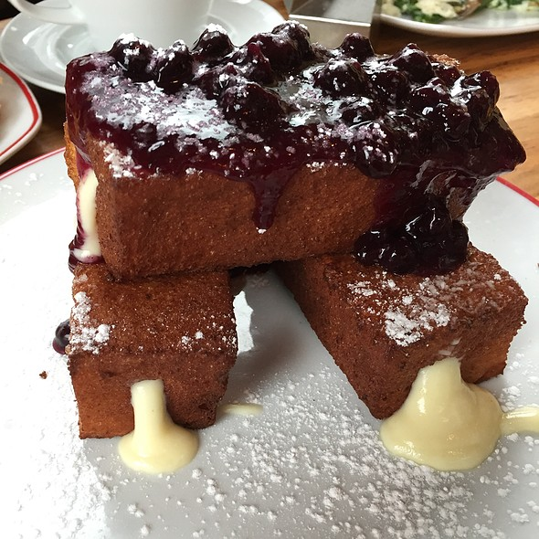 Stuffed French Toast w/ Blueberries  - Founding Farmers - Montgomery County, Potomac, MD