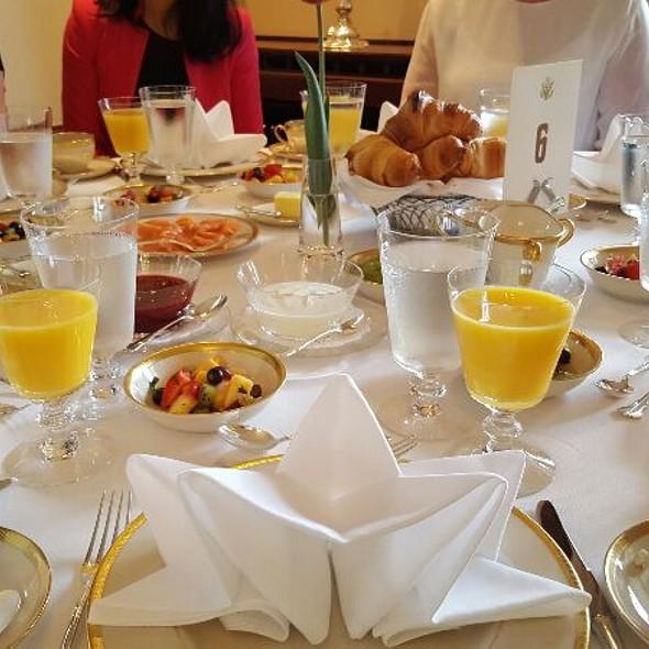 Breakfast! @ American Ambassador's Residence, Oslo