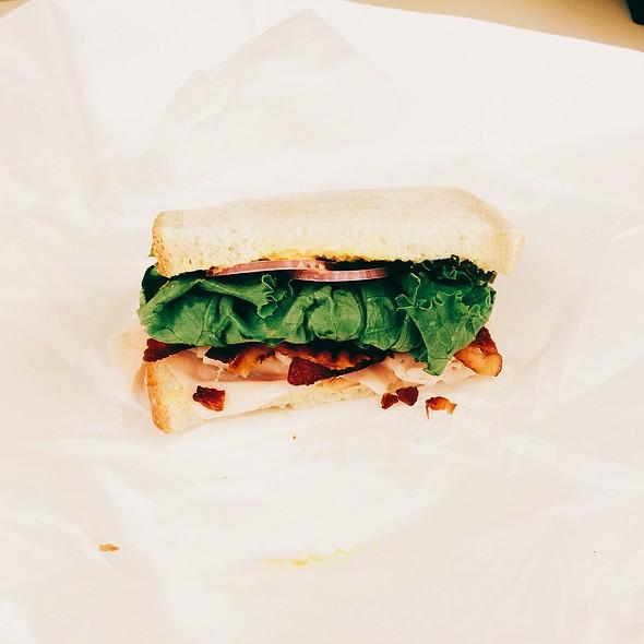 1/2 Turkey And Bacon Sandwich @ Zia's Delicatessen