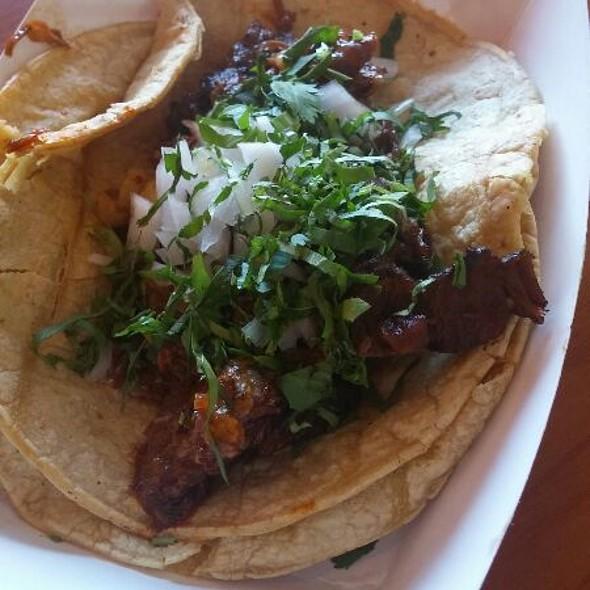 Barbacoa Taco @ Las Tortas Locas