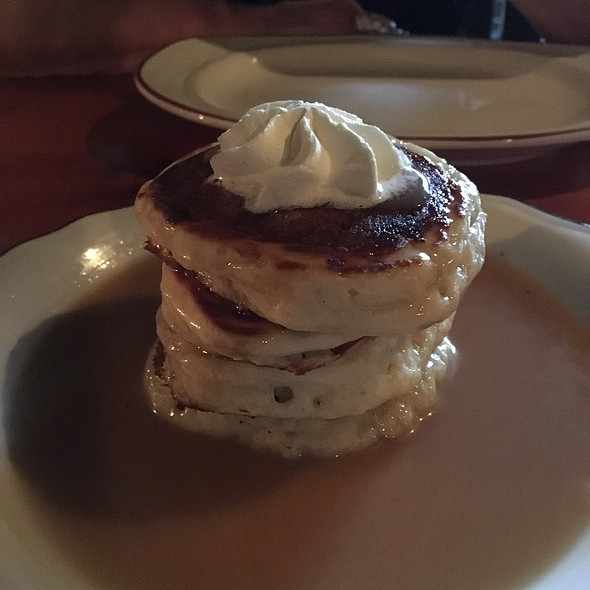 Pancakes W/ Vanilla Butter  - Le Bremner, Montreal, QC