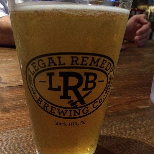 Golden Ale @ Legal Remedy Brewing
