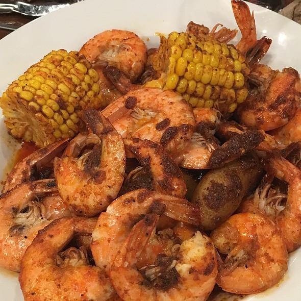 Cajun Shrimp @ 99 Degrees Seafood Kitchen