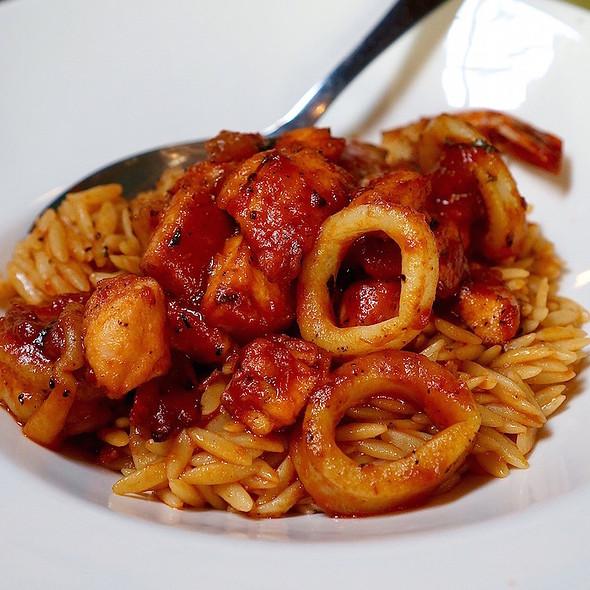 Seafood Orzo - Avli Restaurant, Winnetka, IL