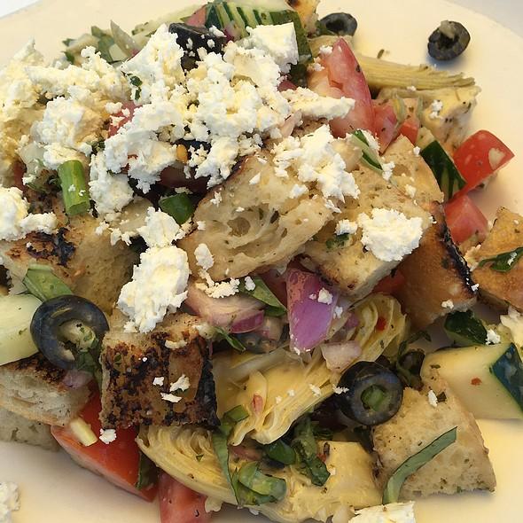Sicillian Bread Salad - Abalonetti Bar and Grill, Monterey, CA