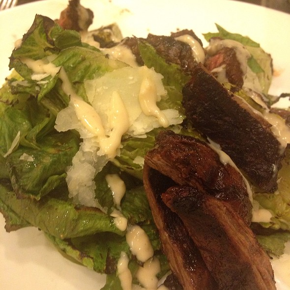 Grilled Ceasar Salad With Flank Steak - Fire & Sage, Washington, DC