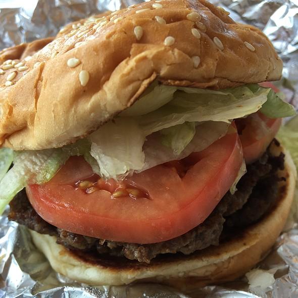 Hamburger @ Five Guys Burgers and Fries