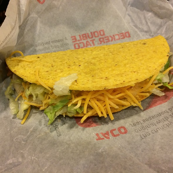 Meat Taco @ Taco Bell