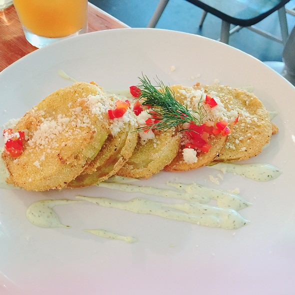 Fried Green Tomatoes @ South