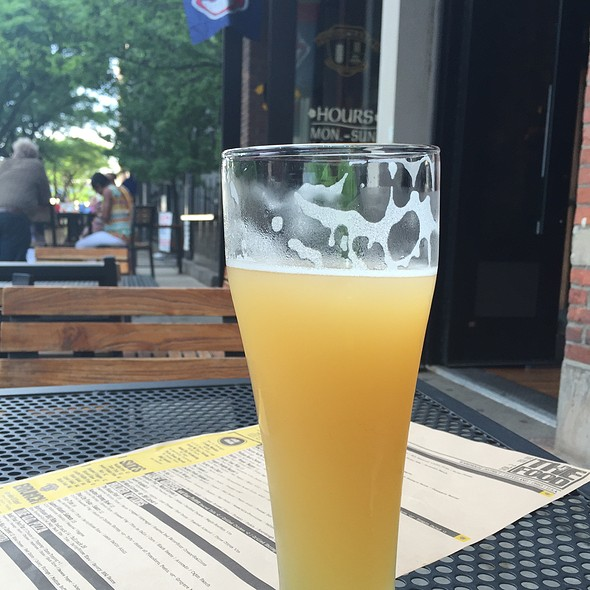 Summer Shandy @ barley house cleveland