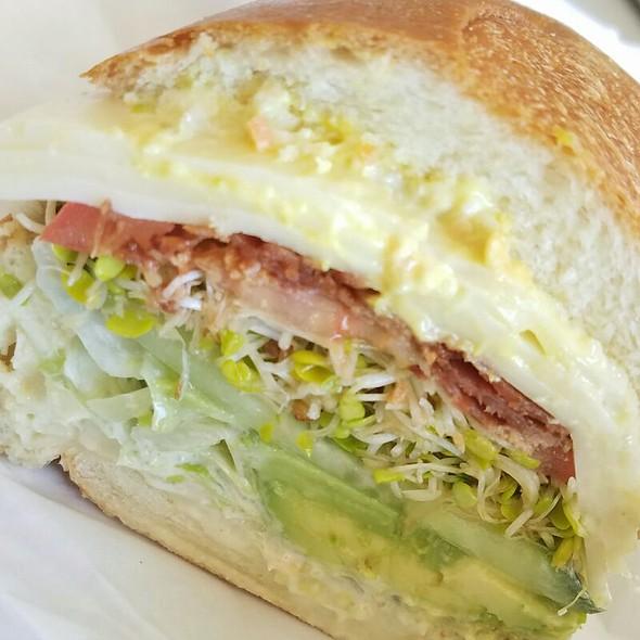Veggie Sandwich With Bacon @ Darby Dan's
