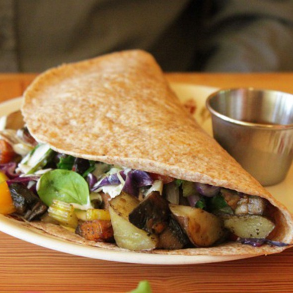 Breakfast Burrito @ Fud