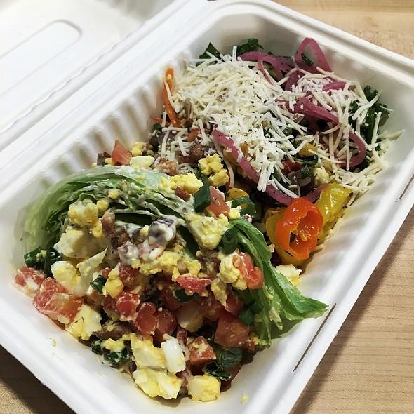 Wedge Salad + Salad Bar