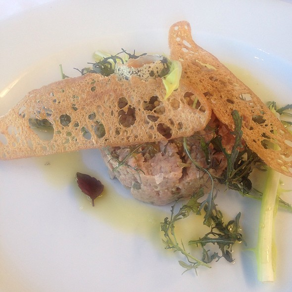 steak tartare @ Hotel De Goudfazant