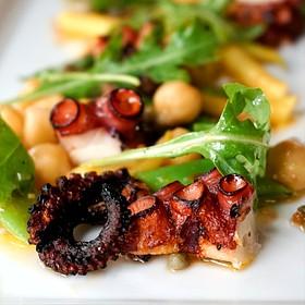 Chargrilled Octopus - Soif Wine Bar Restaurant, Santa Cruz, CA