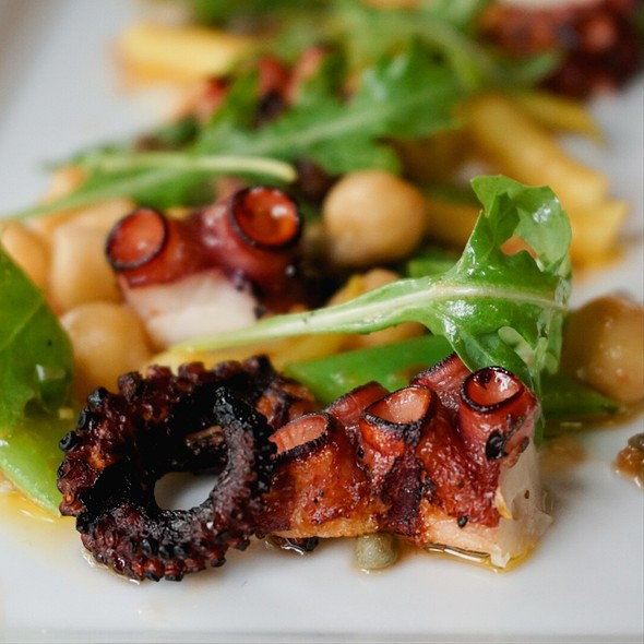Chargrilled Octopus - Soif Wine Bar Restaurant, Santa Cruz, CA