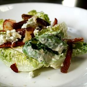 Little Gem Lettuces - Soif Wine Bar Restaurant, Santa Cruz, CA
