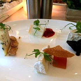 Cheese Plate - Ostra, Boston, MA