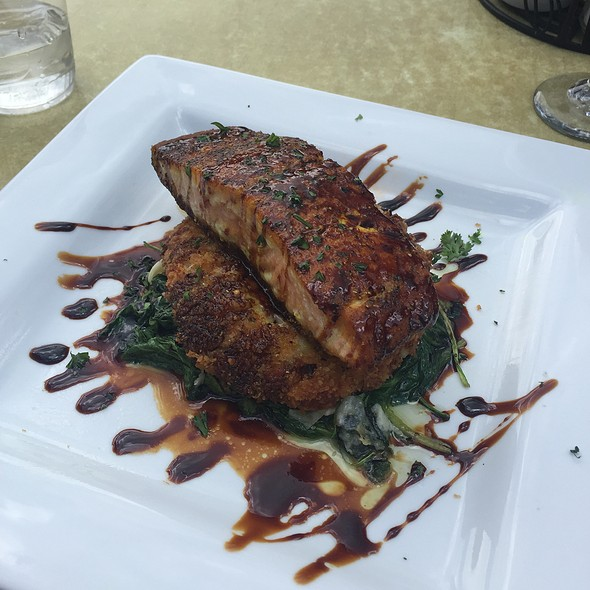 Sweet Seared Salmon @ Incline Bar And Grill