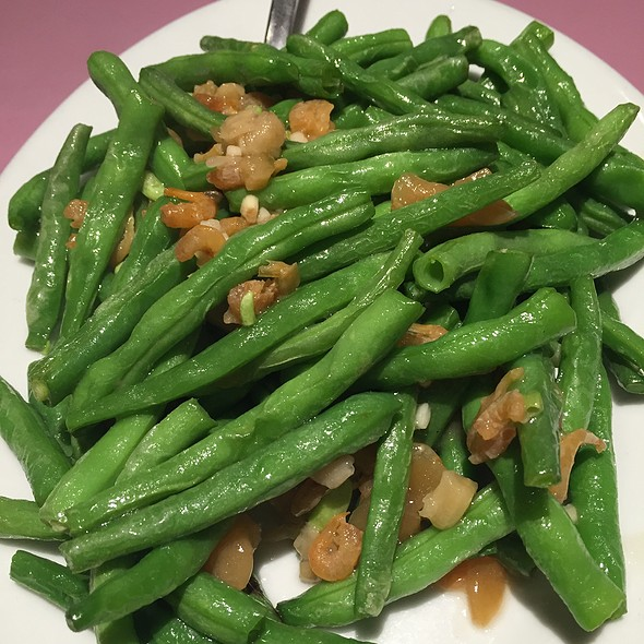 Green Beans W/ Dried Shrimp & Preserved Turnip