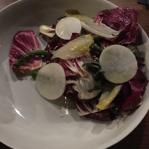 Green Bean & Radicchio Salad