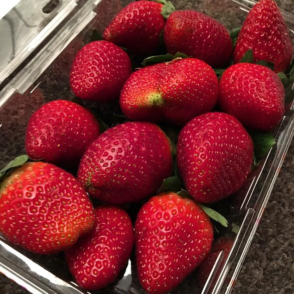 MJC Farms Strawberries @ coles