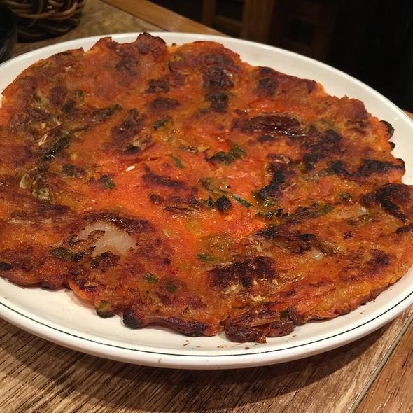 Kimchi Pancake @ Mr Bap