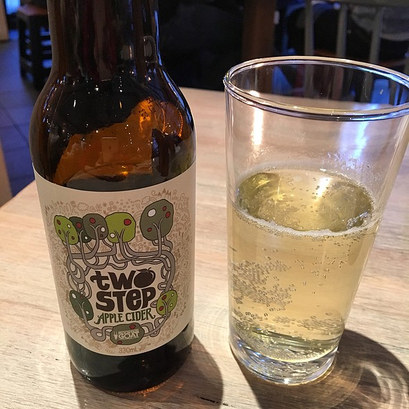 two STEP APPLE CIDER by MOUNTAIN GOAT  @ The Grain Store, CBD