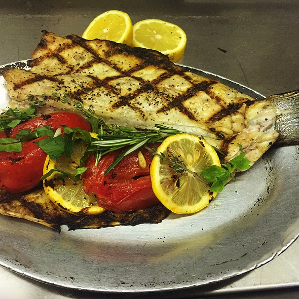 Grilled Mediterranian Branzino With Lemon And Herbs - Via 45, Red Bank, NJ