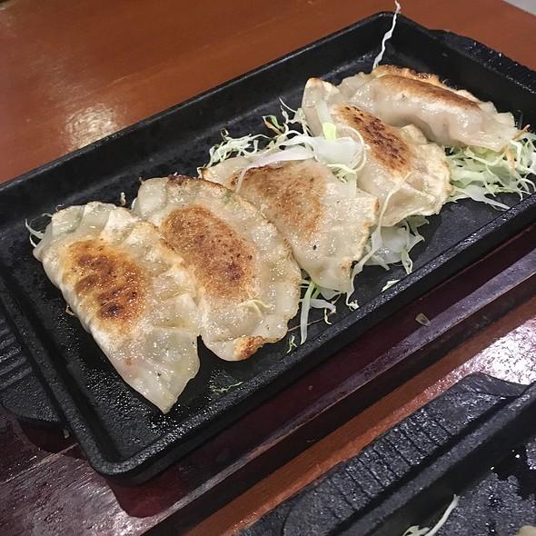 Spam Gyoza @ tok-yu sushi bar & restaurant