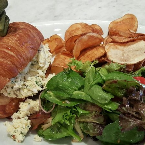 Truffle Egg Sandwich - Brasserie 19, Houston, TX