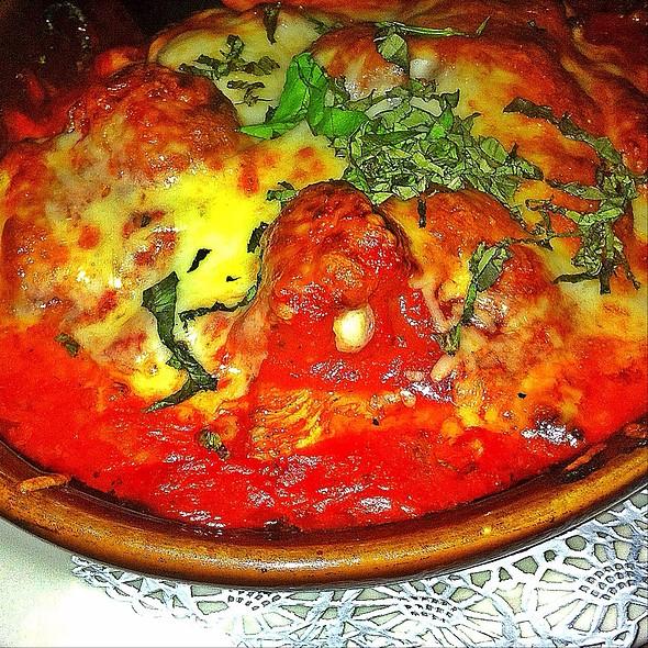 Grilled Chicken Patmesean @ Fiores Ristorante Toscana