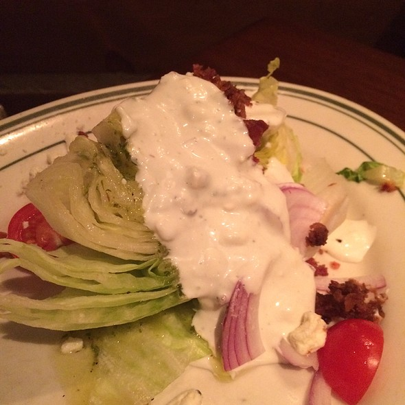 Wedge Salad - L. Woods Tap and Pine Lodge, Lincolnwood, IL