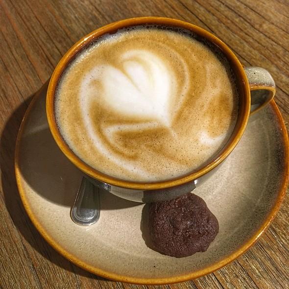 Latte @ Laurent's Cafe