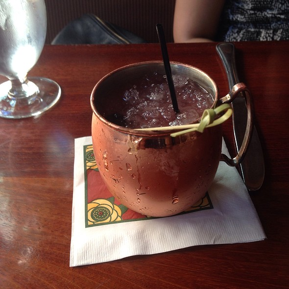 Sour Cherry Mule - Dahlia Lounge, Seattle, WA