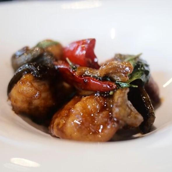 fried eel in 3-cup sauces @ Shen Yen Teppanyaki