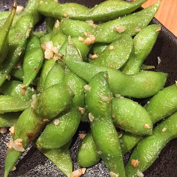 Garlic Edamame @ Sushi Sen