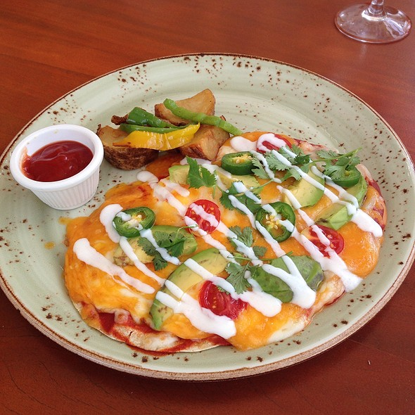 Huevos rancheros @ Beach House Restaurant