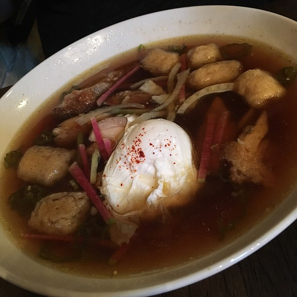 """Pho""-Ride Chicken And Dumplings - Swift's Attic, Austin, TX"